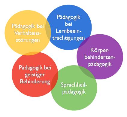 Sonderpädagogik Voraussetzungen